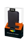 Apple Grixx Optimum Apple iPhone 4/ 4S creditcard case (zwart)  AAP00316