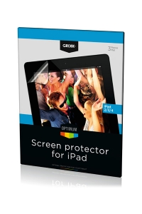 Apple Grixx Optimum iPad 2/ 3/ 4 screenprotector, 3 stuks  AAP00326