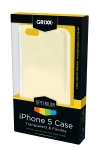 Apple Grixx Optimum iPhone 5 transparante flexibele case  AAP00321