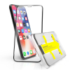 Apple iPhone XR Screenprotector (zwart, gehard glas, 123accu huismerk)