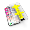 Apple iPhone Xs max Screenprotector (zwart, gehard glas, 123accu huismerk)