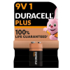 Duracell plus power 9V 6LR61 batterij  204508
