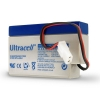 Ultracell UL0.8-12 accu met AMP connector (12V, 800 mAh)  AUL00039